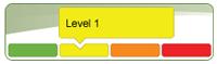 low water response Level 1 icon