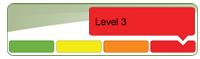 Low Water Response Program Level 3 icon