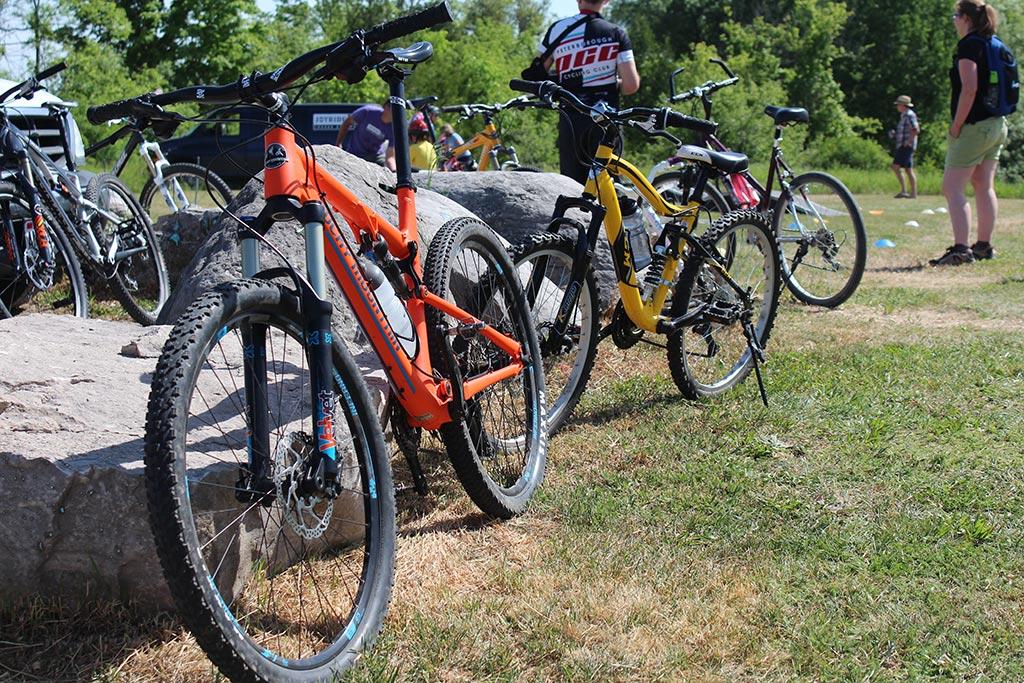 Bikes at Haroldtown